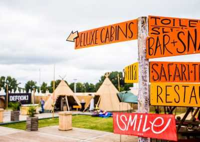 deluxe cabins at defqon