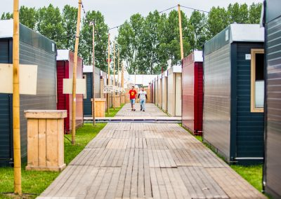 Flexotels temporary accommodation at Defqon