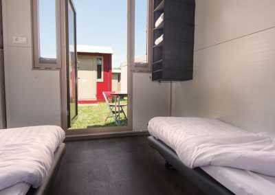Flexotel temporary accommodation from inside