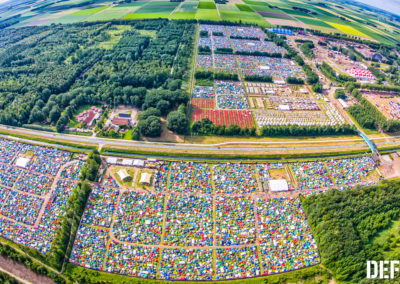 Defqon Campsite with Flexotels