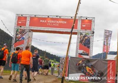 Max Verstappen Village entrace