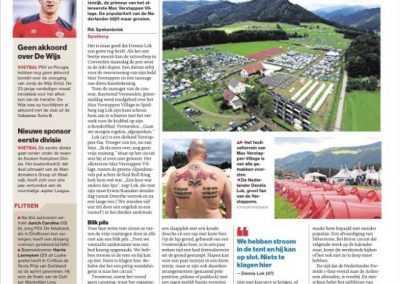 krantartikel Max Verstappen Village