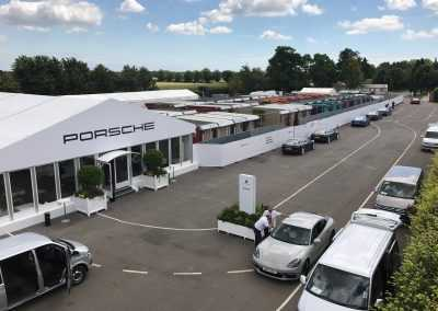 Goodwood Festival of SpeedTemporary accommodation