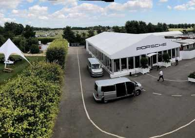 Pop up Hotel at Goodwood Festival of Speed